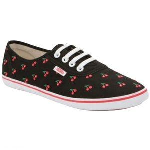 """Vans """"Cherry Pin Up"""" Sneakers - Women's Size 7"""
